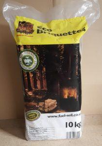 Hardwood Briquette ECO logs 10kg