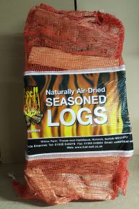 Net of Naturally Air-Dried Seasoned Logs