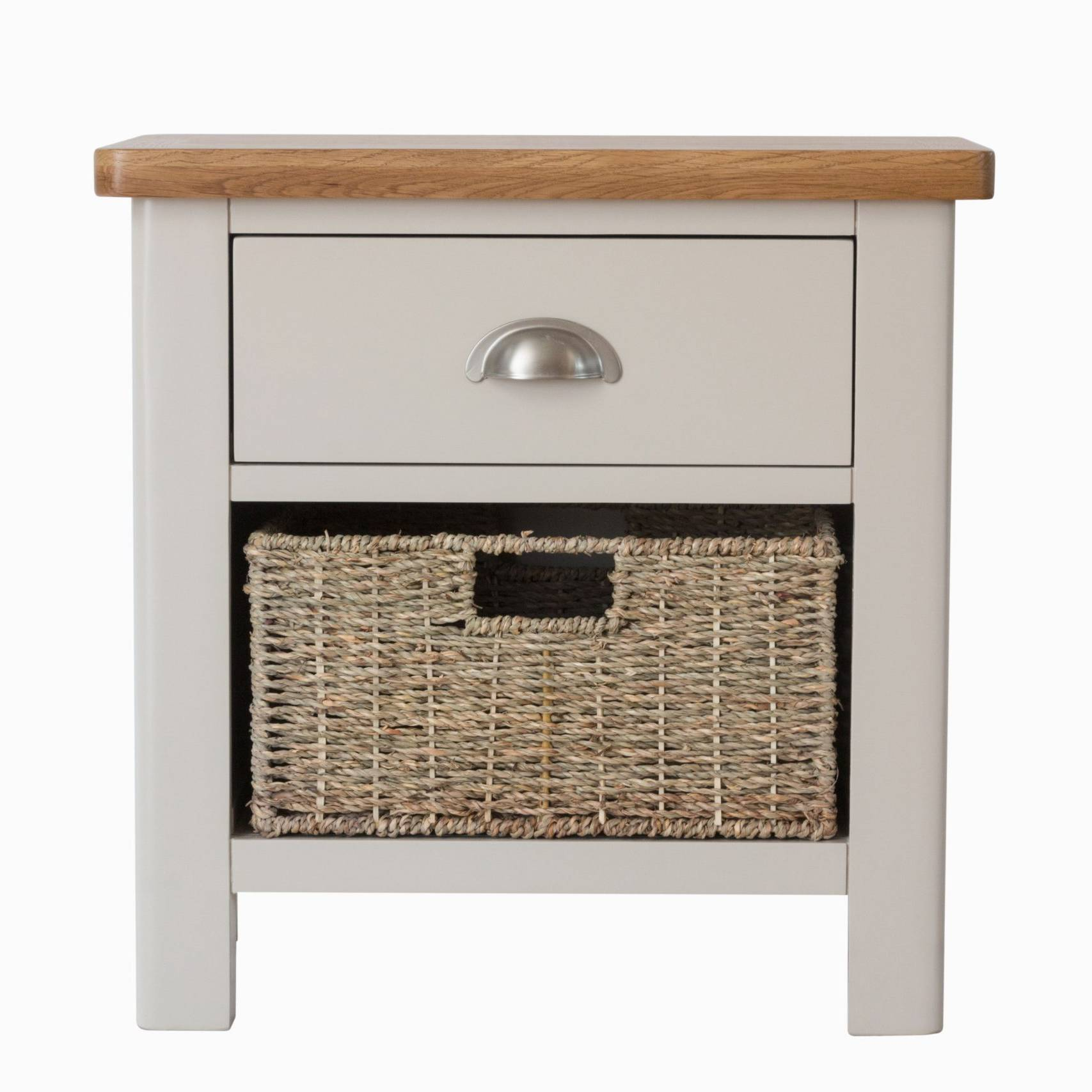 The Truffle - 1 Drawer 1 Basket Cabinet
