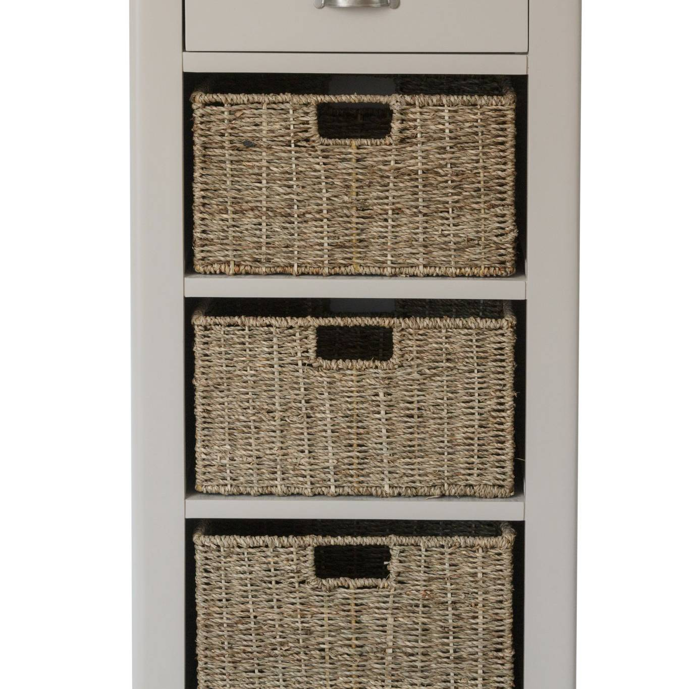 The Truffle - 1 Drawer 3 Basket Cabinet