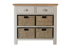 The Truffle - 2 Drawer 4 Basket Cabinet