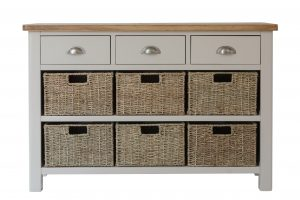 The Truffle - 3 Drawer 6 Basket Cabinet