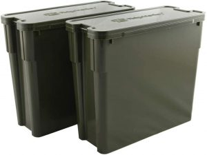 Ridge Monkey Modular Bucket System XL Deep Tray Twin Pack