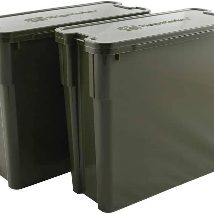 Ridge Monkey Modular Bucket System XL Deep Tray Twin Pack
