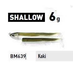 Fiiish Black Minnow Combo - Shallow - 6g - Khaki + Khaki Body