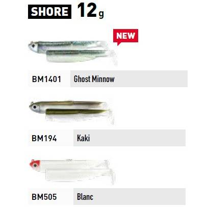 Fiiish Black Minnow Combo - Shore - 12g - Khaki + Kaki Body