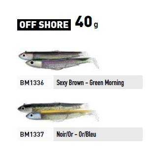 Fiiish Black Minnow No.4 Double Combo - Off Shore - 40g -  Black/Gold & Blue/Gold