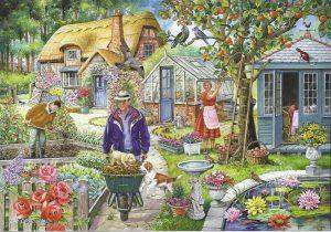 HOP Jigsaw In The Garden 1000 Piece