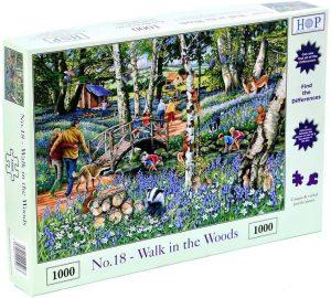 HOP Jigsaw No 18. Walk In The Woods 1000 Piece