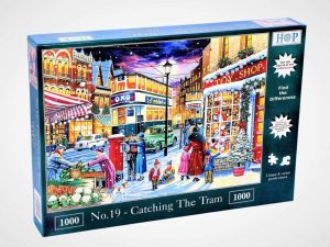 HOP Jigsaw No 19. Catching The Train 1000 Piece