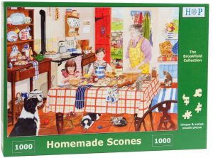 HOP Jigsaw The Brookfield Collection Homemade Scones 1000 Piece