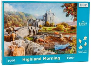 HOP Jigsaw Highland Morning 1000 Piece Puzzle