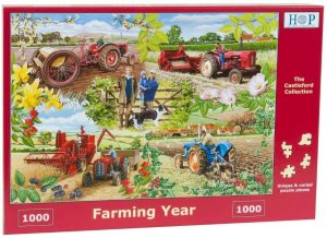HOP Jigsaw Farming Year