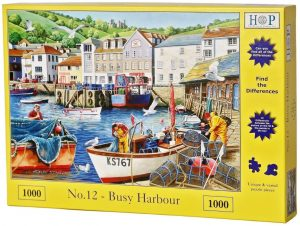 HOP Jigsaw No.12 - Busy Harbour - Puzzle