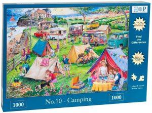 HOP Jigsaw Camping 1000 Piece
