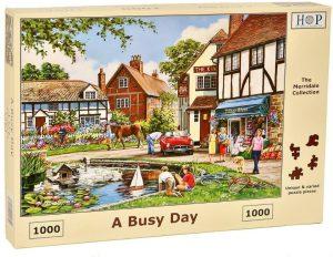 HOP Jigsaw A Busy Day
