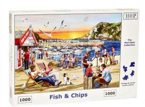 HOP Jigsaw Fish & Chips