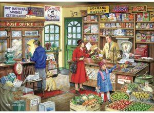 HOP Jigsaw Eskadale Collection 'Corner Shop' - 1000Pc