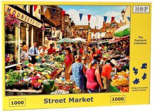 HOP Jigsaw Street Market - Puzzle