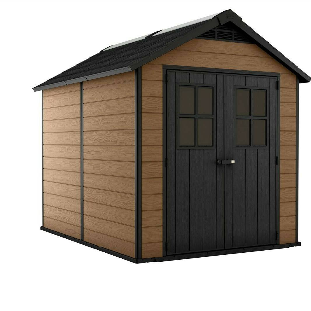 Keter Newton 7511 Shed - Brown