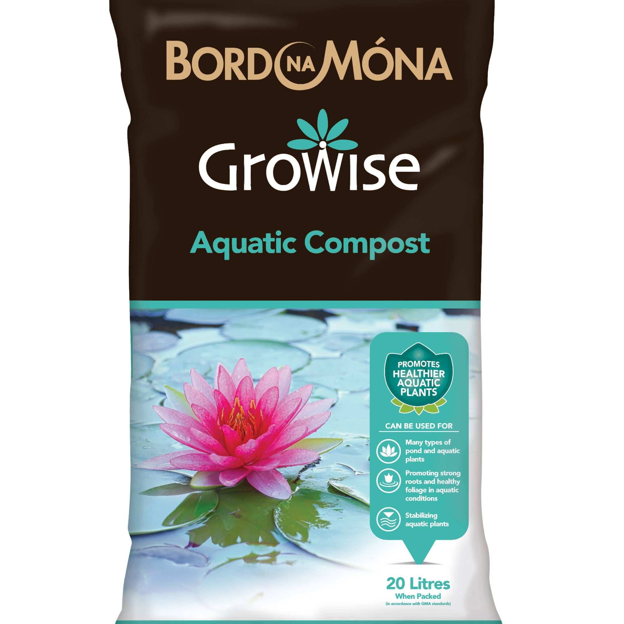 Bordnamona Growise Aquatic Compost 20L
