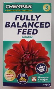 Chempak Fully Balanced Feed N03 750g