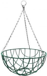 "Apollo Wire Hanging Basket 35cm/14"""