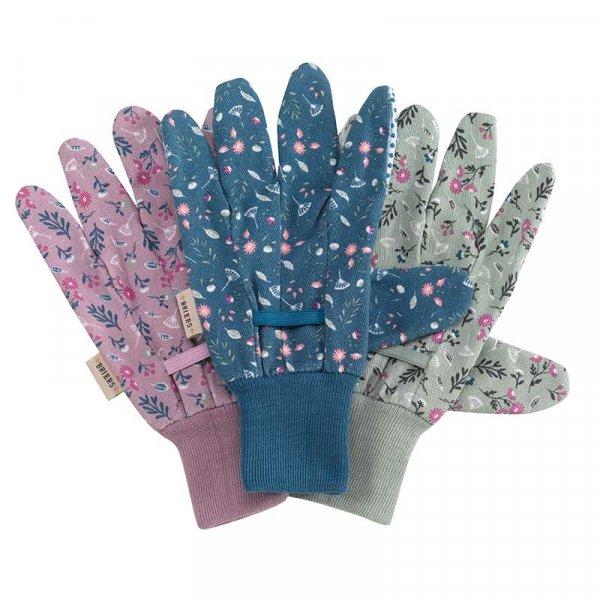 S/G Flowerfield Cotton Grips M8 Triple Pack