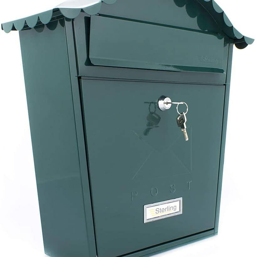 Burg Wachter Classic Postbox Green