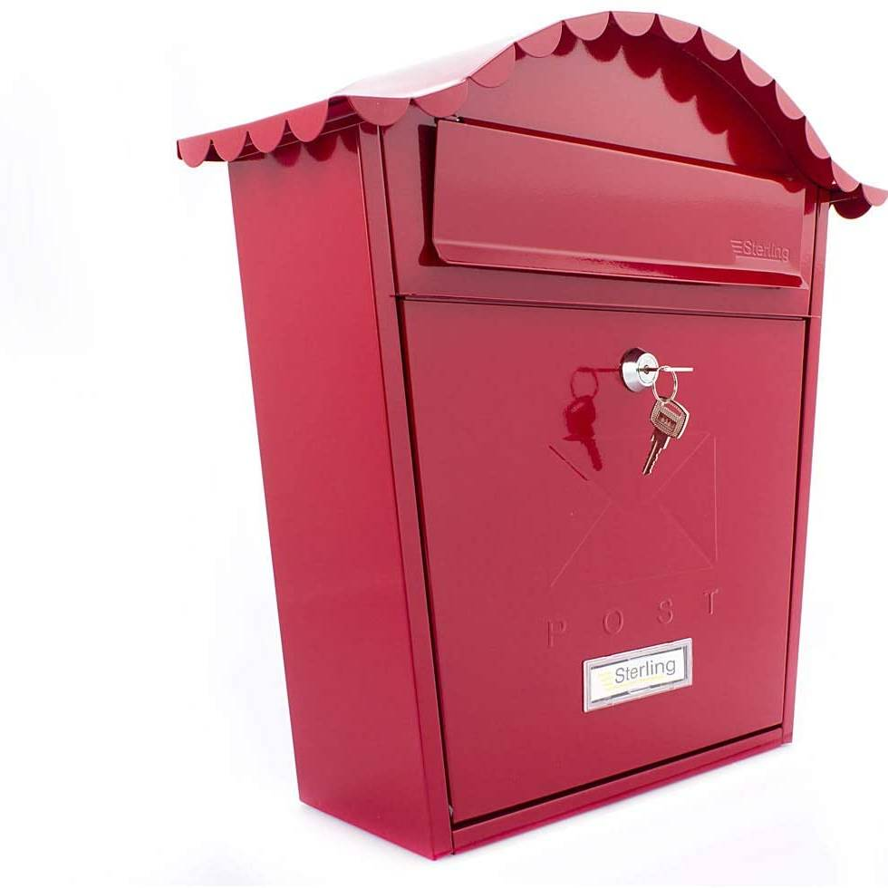 Burg Wachter Classic Postbox Red