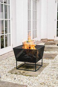 Ivyline Outdoor Norfolk Firebowl Rust Iron H44.5Cm W52Cm
