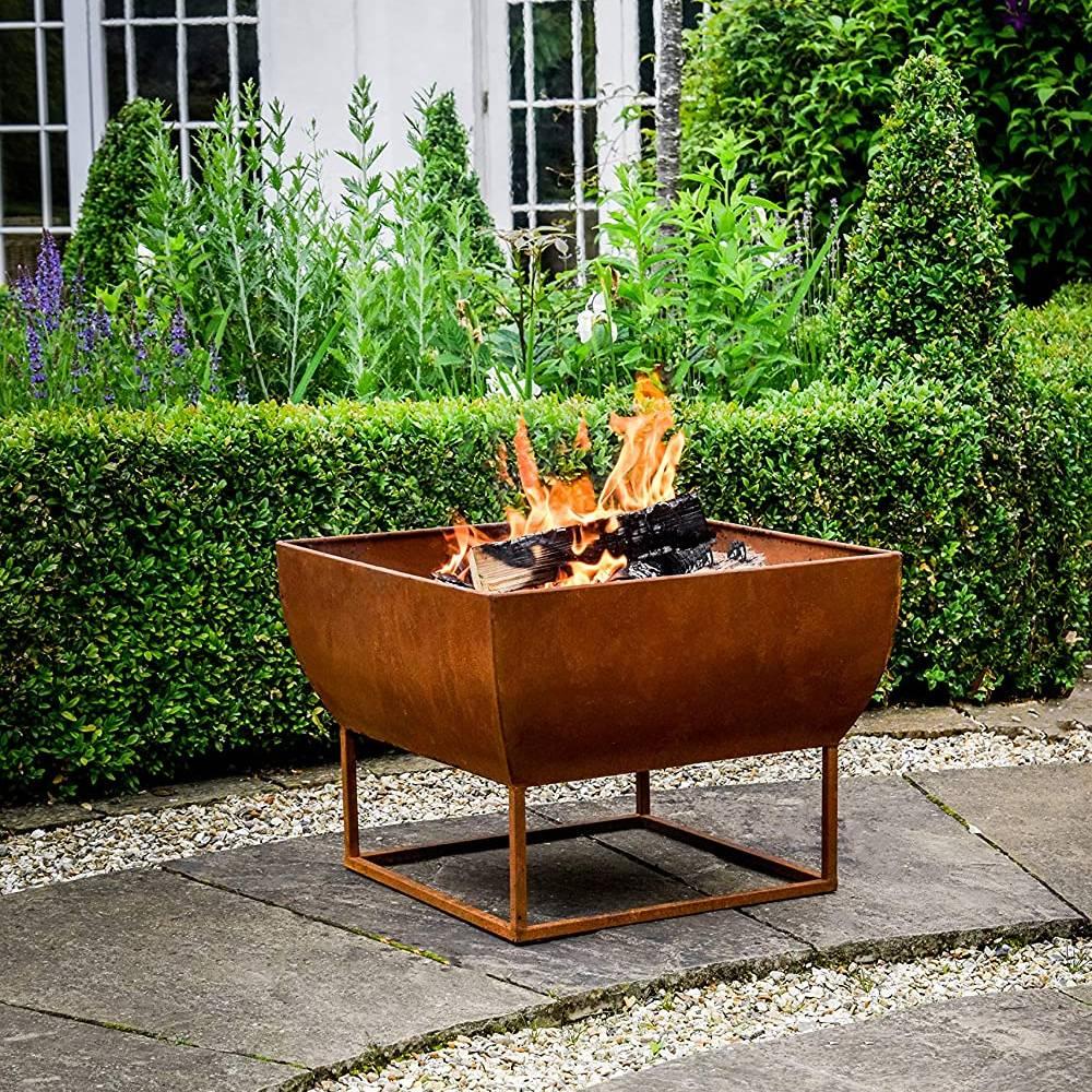 Ivyline Outdoor Windermere Firebowl Rust Iron H35Cm W50Cm