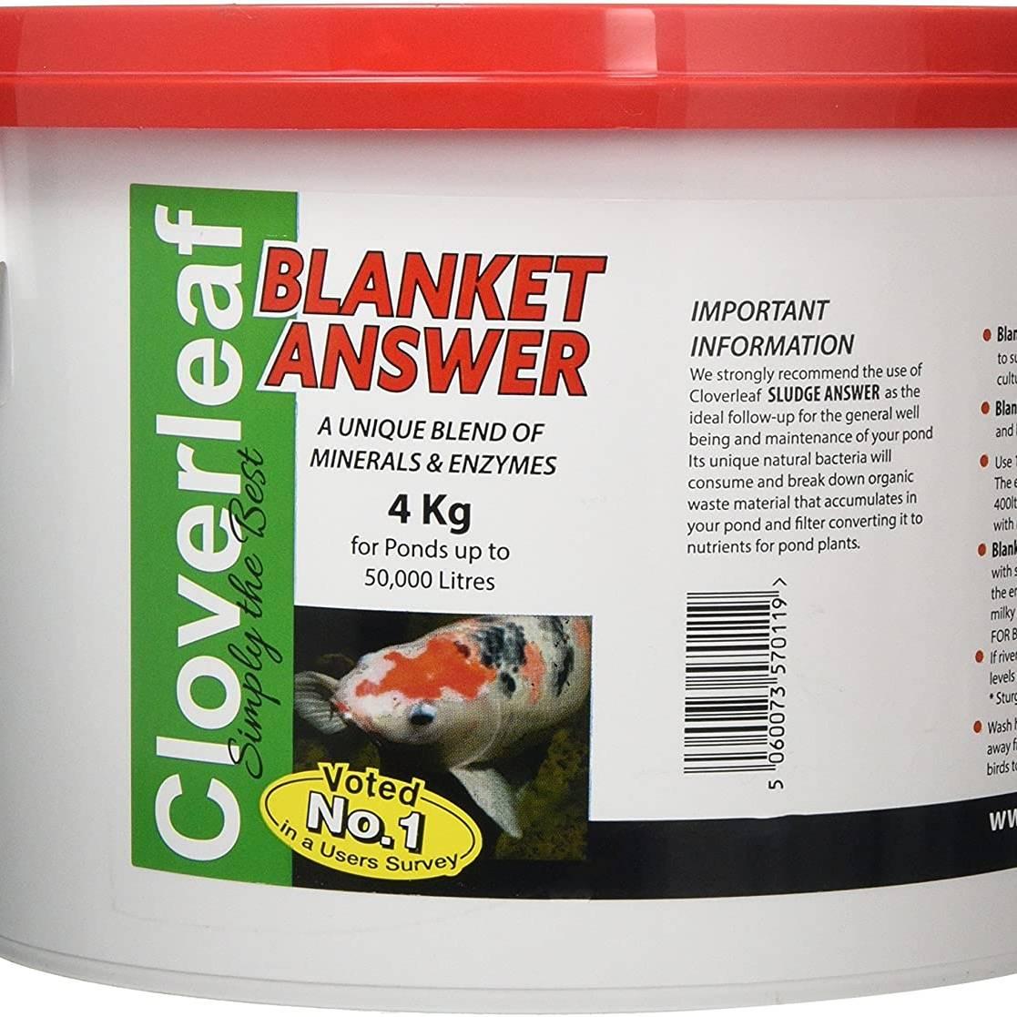 Cloverleaf Blanket Answer 4kg