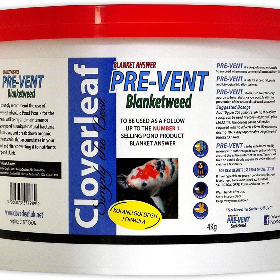 Cloverleaf  Pre-Vent Blanketweed 4kg