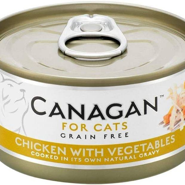 Canagan Cat Can - Chicken with Vegetables 75g
