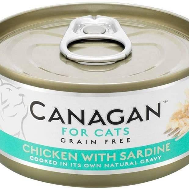 Canagan Cat Can - Chicken with Sardine 75g