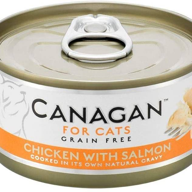 Canagan Cat Can - Chicken with Salmon 75g