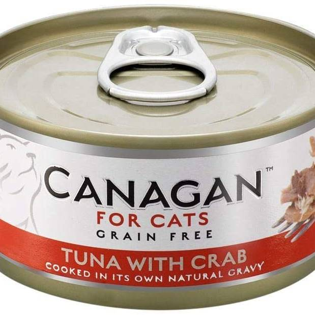 Canagan Cat Can - Tuna with Crab 75g