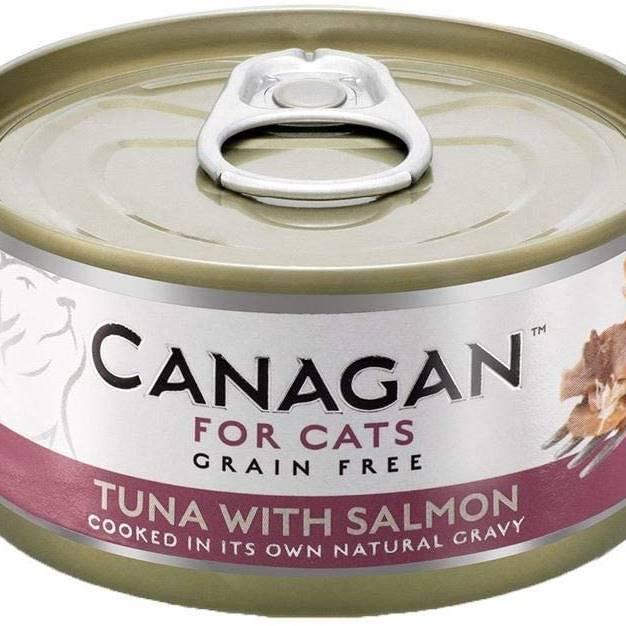 Canagan Cat Can - Tuna with Salmon 75g