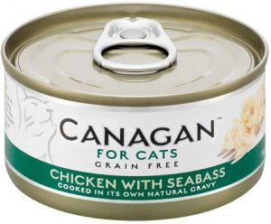 Canagan Cat Can - Chicken with Seabass 75g
