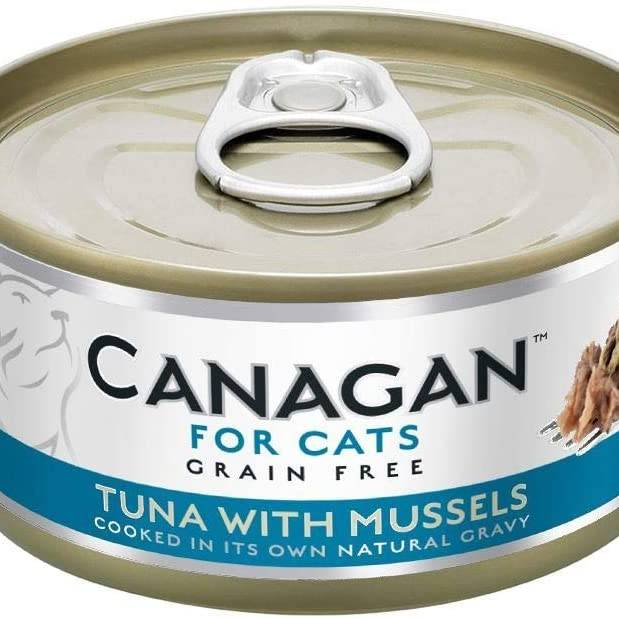Canagan Cat Can - Tuna with Mussels 75g