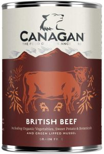 Canagan Can - British Braised Beef For Dogs 400g
