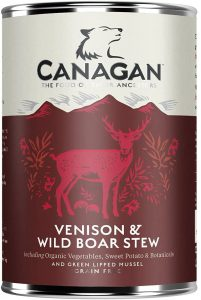 Canagan Can - Venison & Wild Boar Stew For Dogs 400g