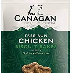 Canagan Chicken Dog Biscuit Bakes 150g x8