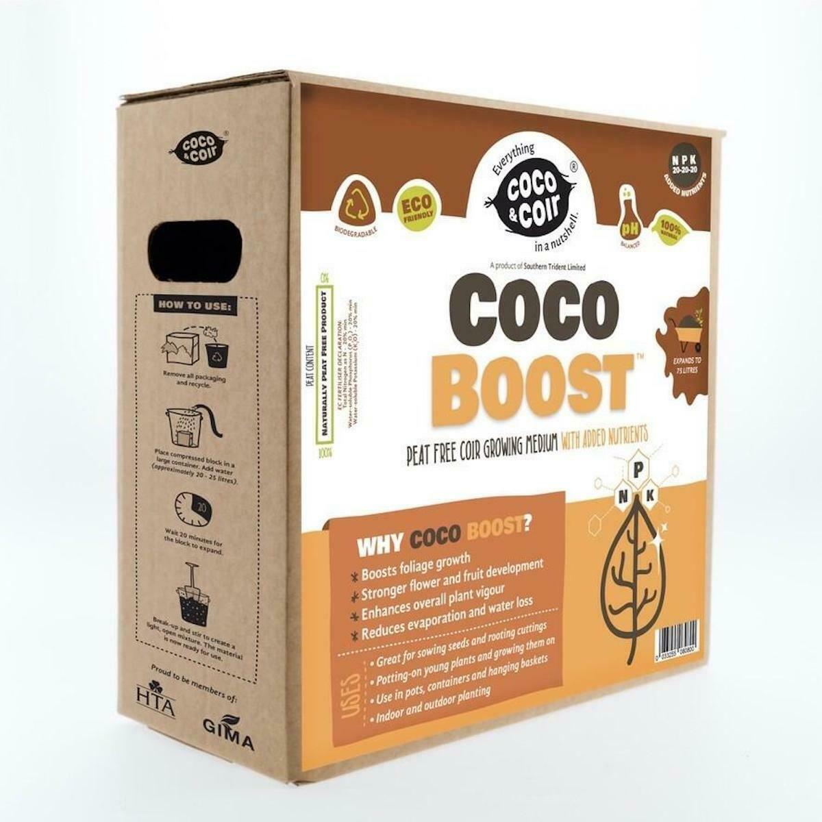 Coco Boost All Purpose Compost 75L