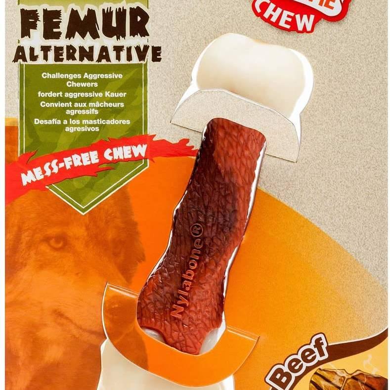 Nylabone Femur Beef M