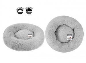 Sweet Dreams Snuggle Pet Bed M Grey 65x65x13cm