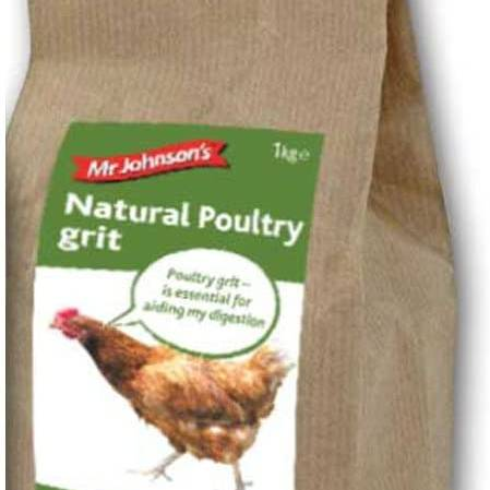 Mr Johnson's Natural Poultry Grit 1Kg