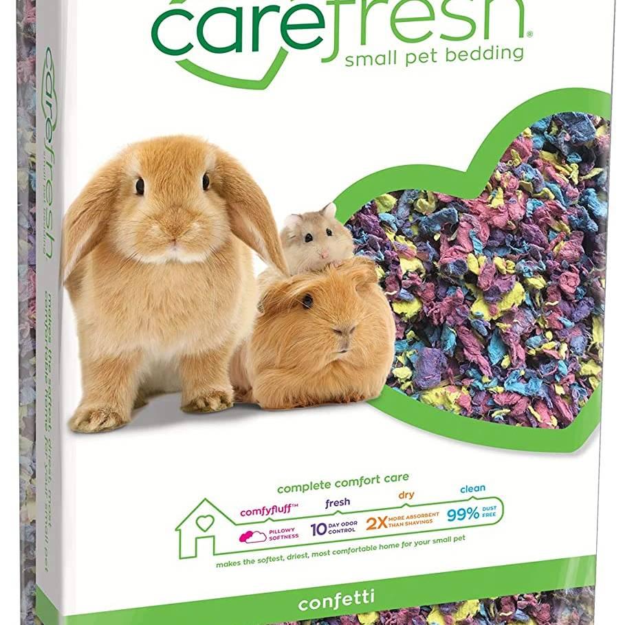 Carefresh Small Pet Bedding - Confetti 10ltr