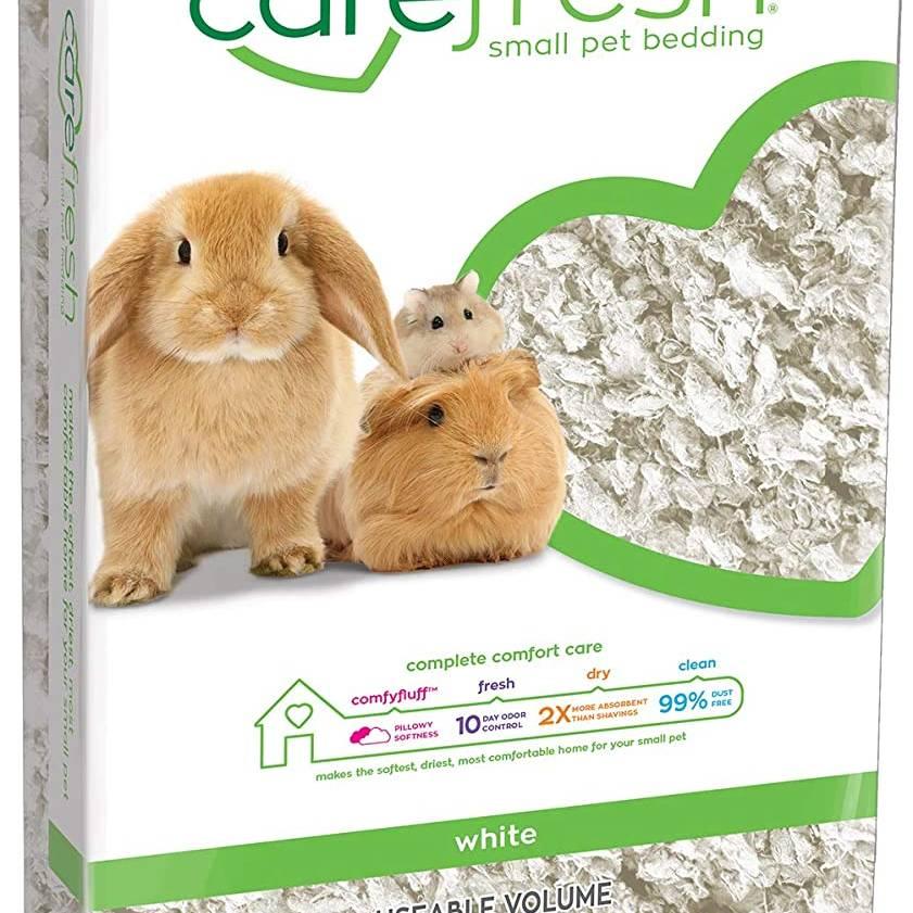 Carefresh Small Pet Bedding - White 10ltr